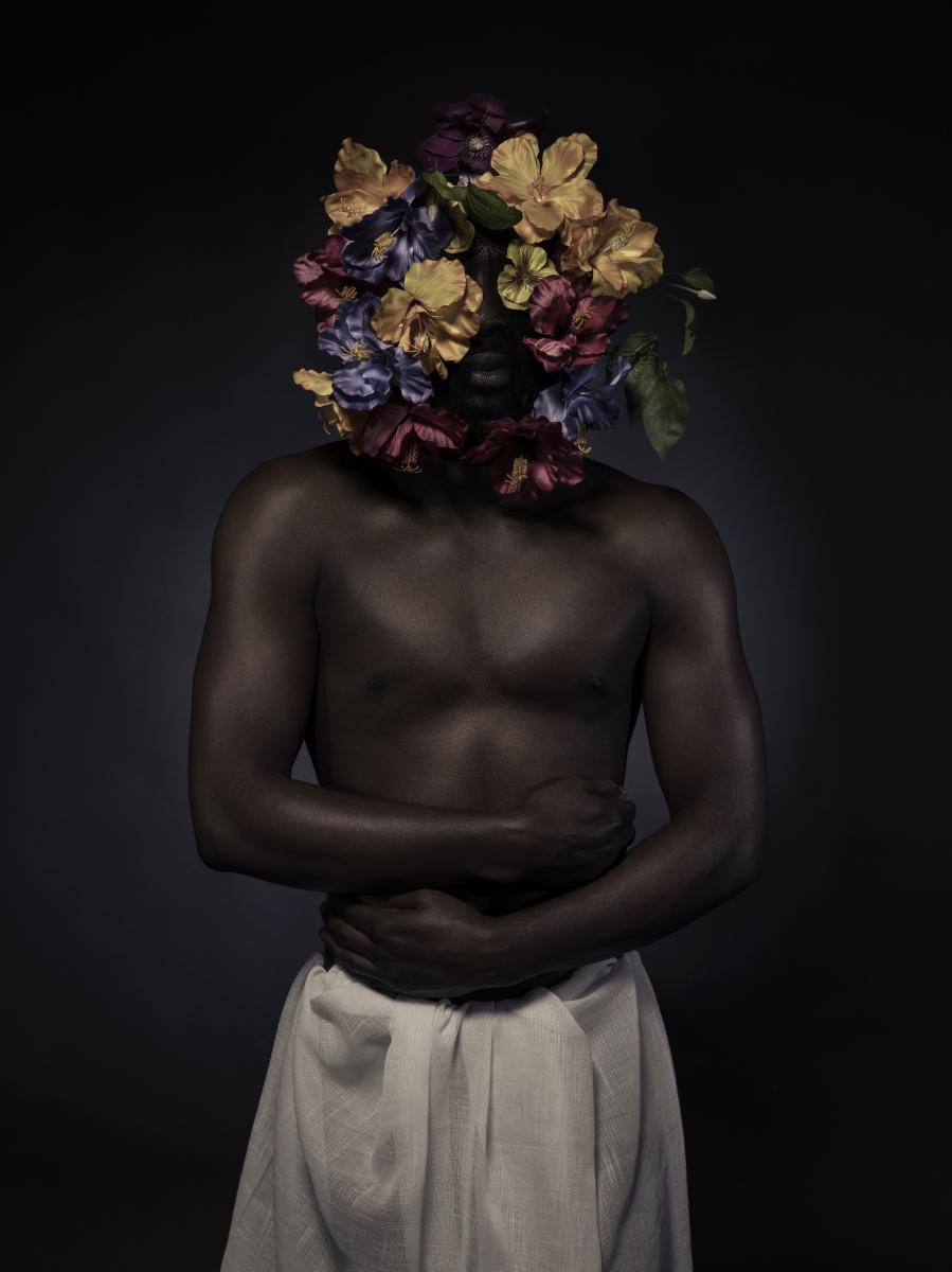 Daniel with flowers 1