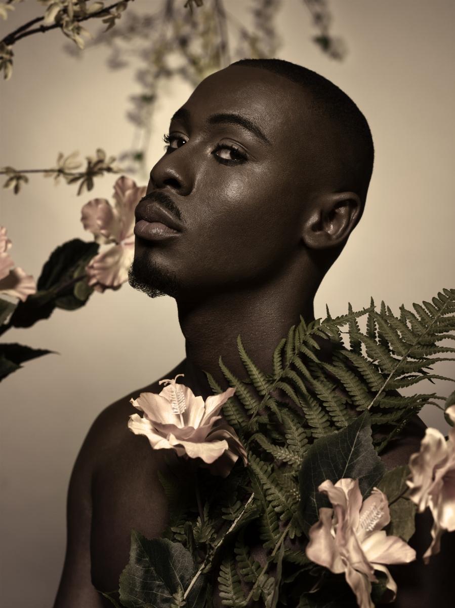 Daniel with flowers 3