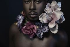Daniel with flowers 5