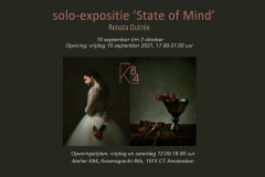uitnodiging expo Sata of Mind Renata Dutrée Atelier K84